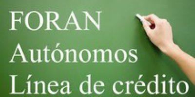 Andalucía lanza un fondo de crédito para autónomos de 25 millones de euros
