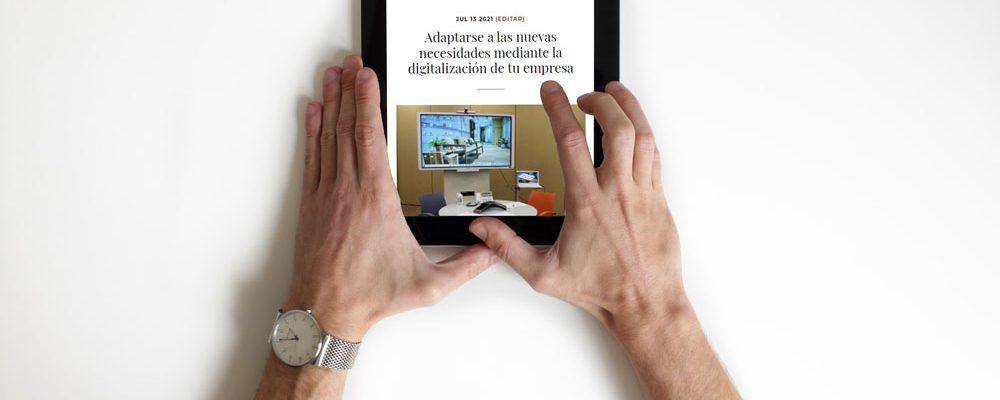 Transformación digital de la empresa como estrategia a nuevos hábitos